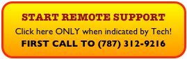 START REMOTE SUPPORT